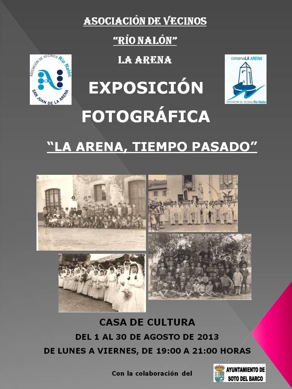 """Exposición """"La Arena, tiempo pasado"""""""
